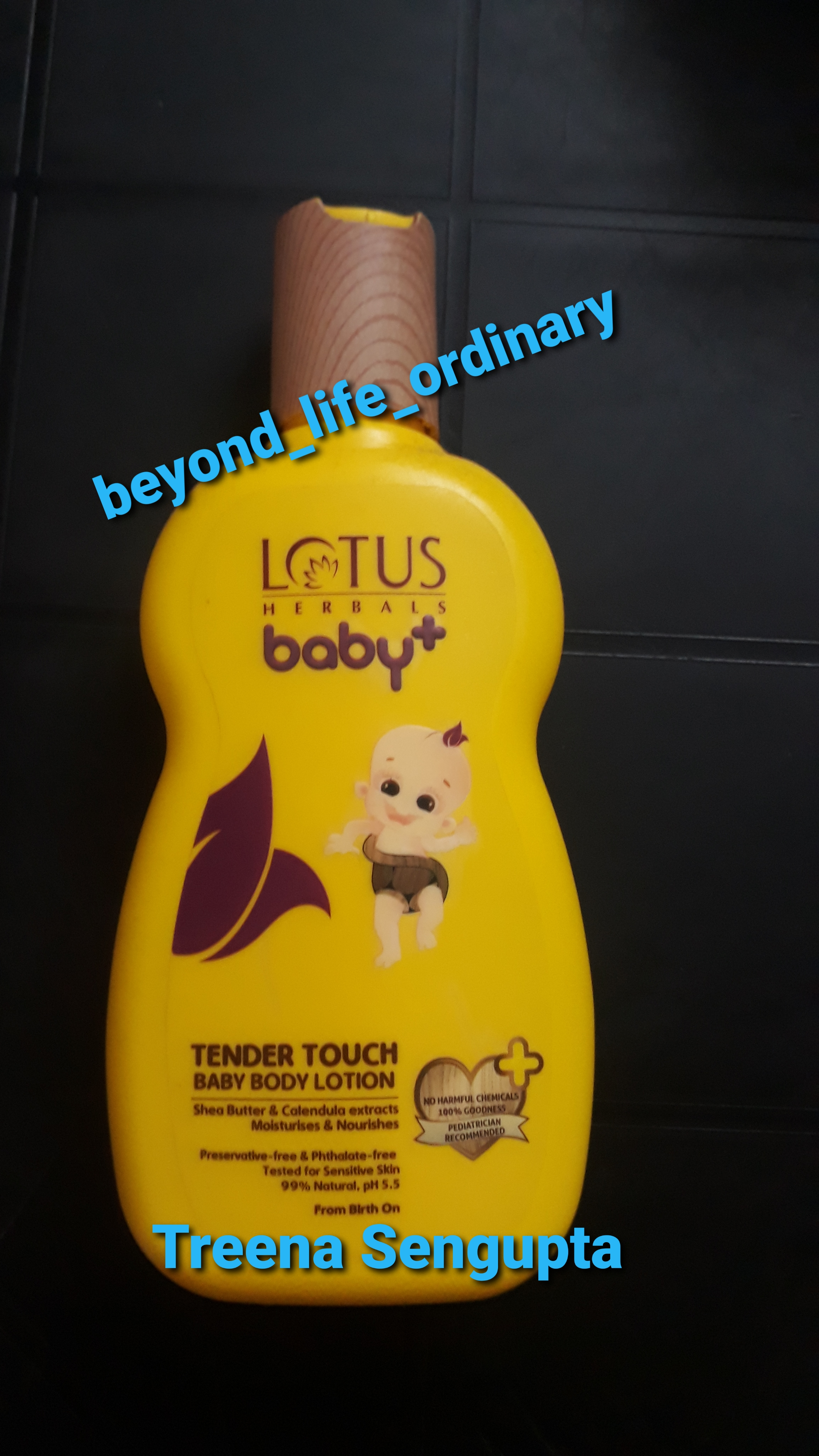 Lotus Herbals baby+ Tender Touch Baby Body Lotion-Nice product-By treena123