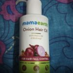Mamaearth Onion Hair Oil-Hair growth-By geetar1