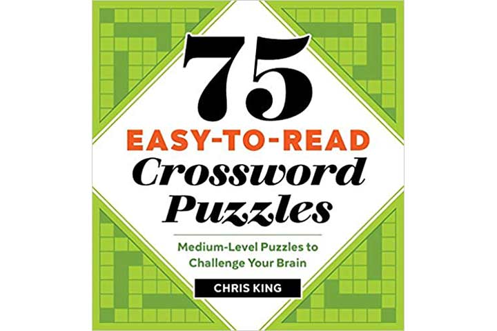 75 Easy-To-Read Crossword Puzzles
