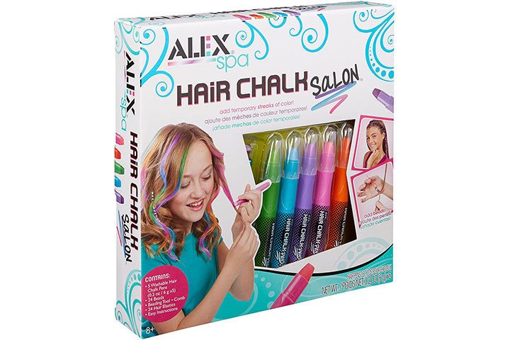 ALEX Toys Spa Hair Chalk Salon Kit