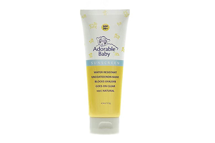 Adorable Baby By Loving Naturals SPF 30 Plus Sunscreen