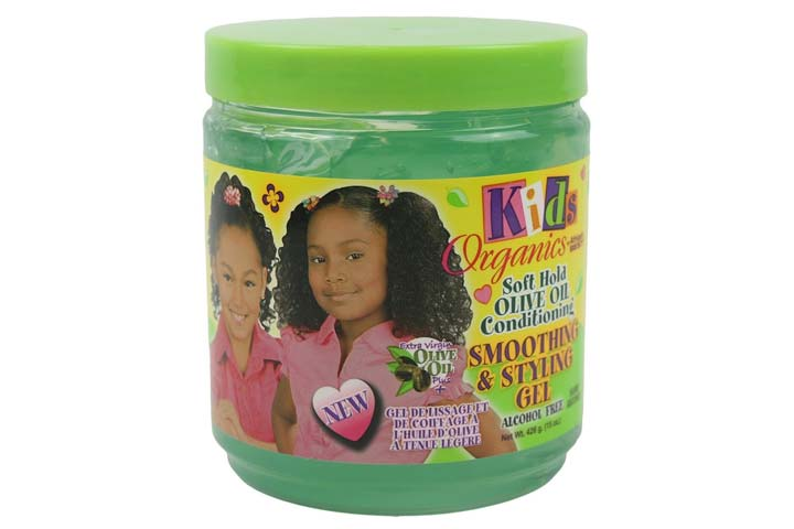 Africas Best Kids Organics Smooth And Style Gel