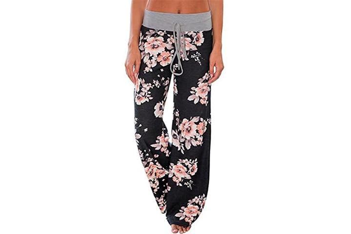Amirey Women's Comfy Casual Pajama Pants