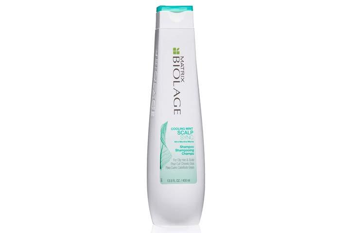 BIOLAGE Cooling Mint Scalp Sync Shampoo