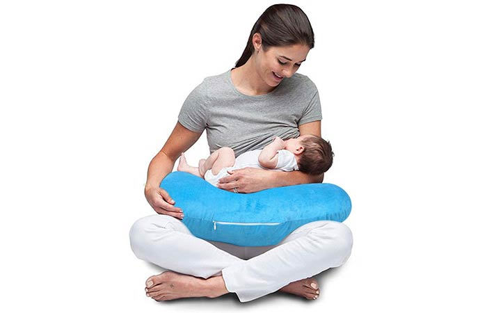 Baby New Born Velvet Portable Breast Feeding Pillow