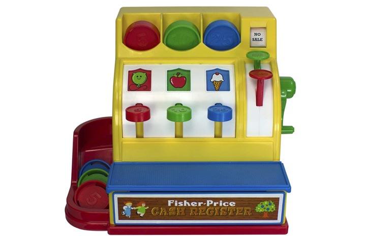 Basic Fun Fisher-Price Retro Cash Register