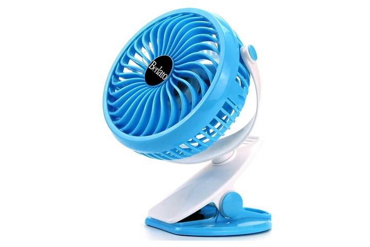 Berlato Clip Desk Stroller Fan