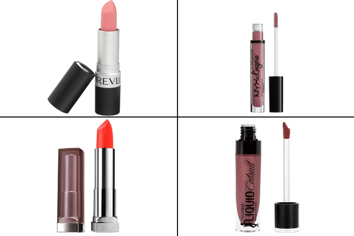 Best Drugstore Matte Lipsticks