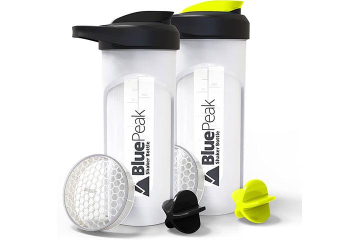 BluePeak Protein Shaker Bottle