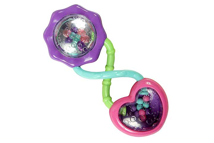 Bright Starts Rattle and Shake Barbell Toy