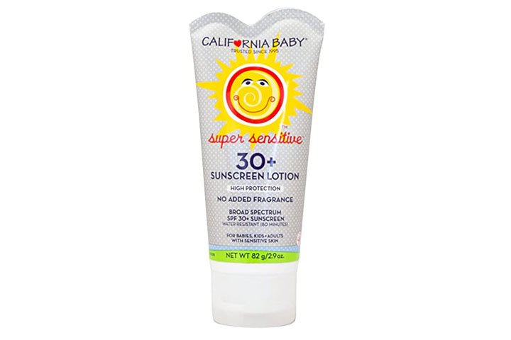 California Baby SPF 30+ Fragrance Free Sunscreen
