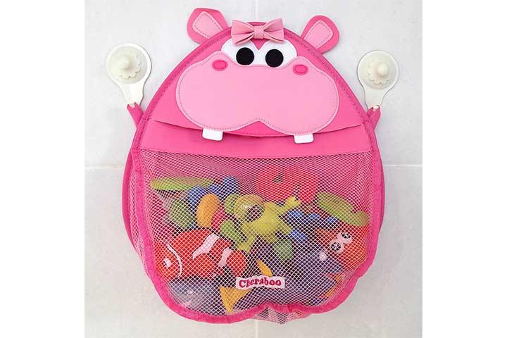 Cheraboo Henrietta Hippo Bath Toy Organizer