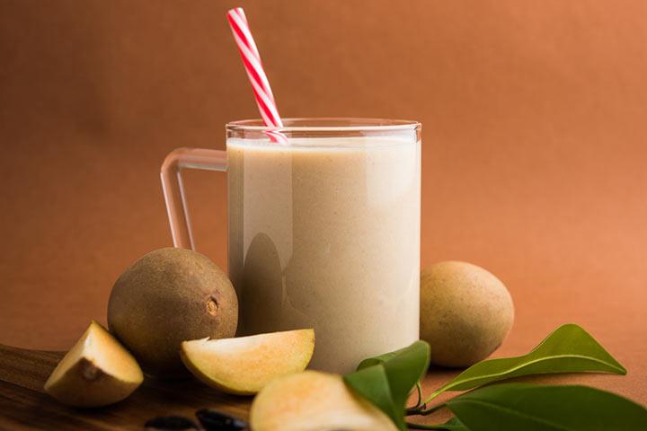 Chiku Milkshake