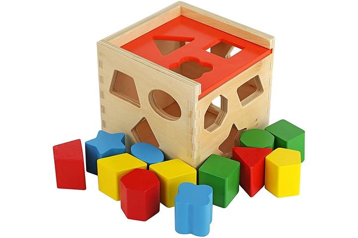 Colorful Shape Cube
