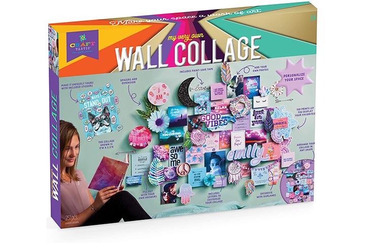 Craft-tastic DIY Wall Collage