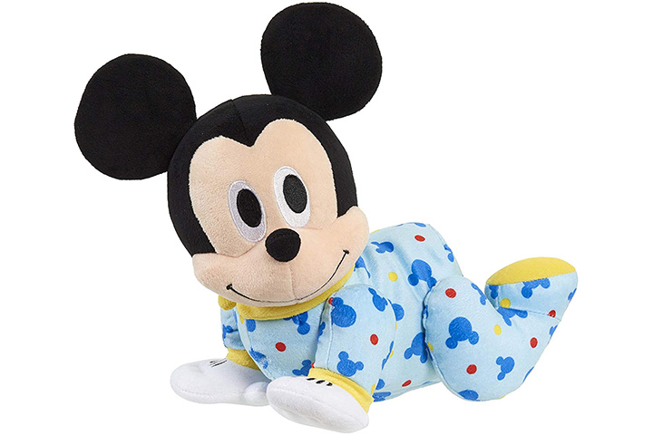 Disney Baby Mickey Mouse Musical Crawling Pal