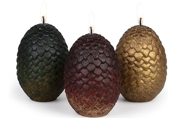 Dragon Egg Candles