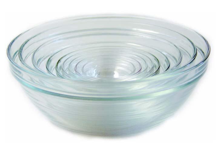 Duralex Glass Mixing Bowls