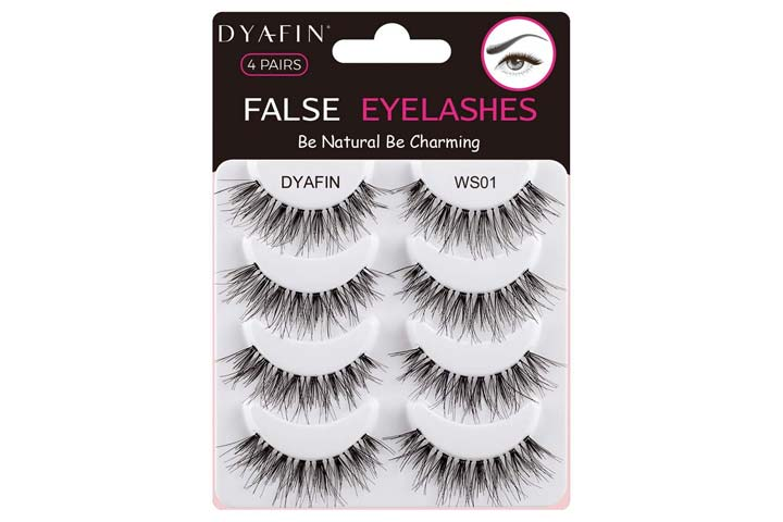 Dyafin Natural False Eyelashes