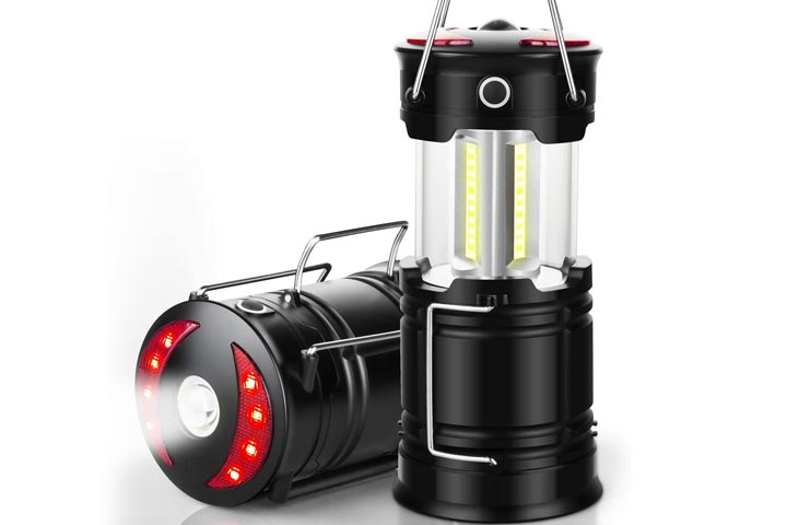 EZORKAS Collapsible Rechargeable LED Camping Lantern