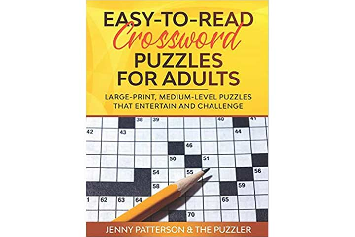 Easy-To-Read Crossword Puzzles For Adults