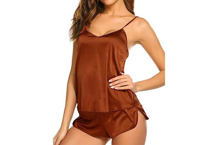 Ekouaer Sleepwear Women's Sexy Lingerie Cami