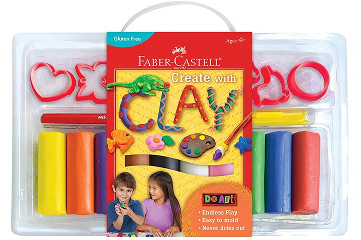 Faber-Castell DIY Modeling Clay Set For Kids