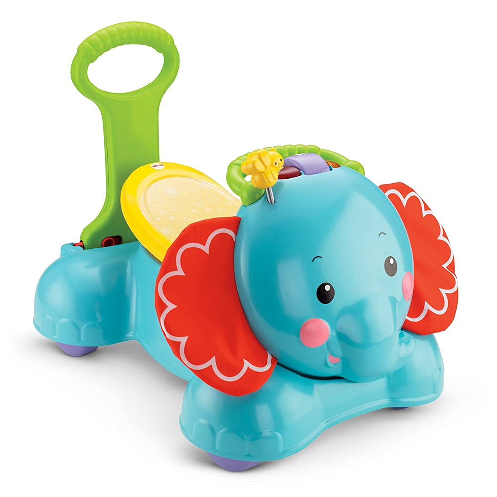 Fisher Price  Bounce Stride and Ride Elephant