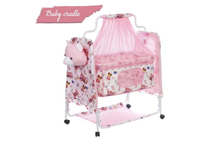 Fun Baby Cozy New Born Baby Cradle