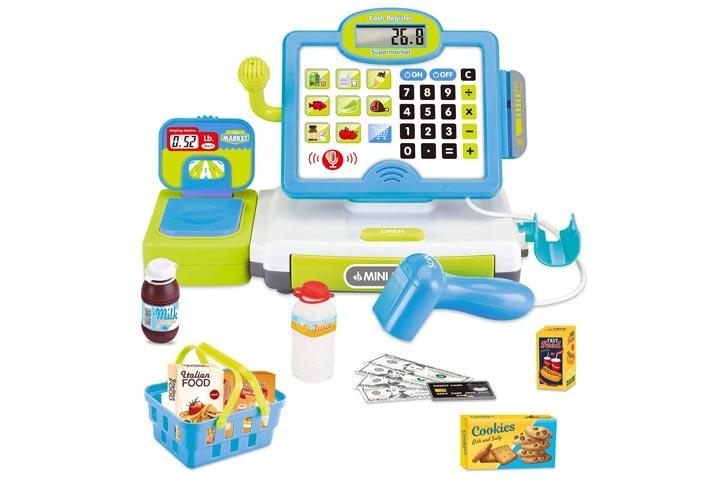 FunLittle Toy Cash Register For Kids