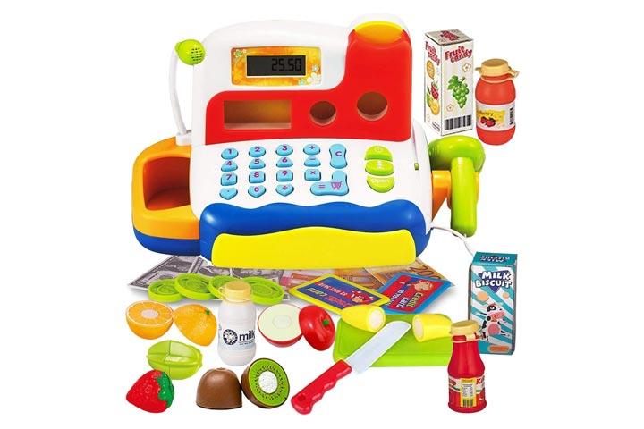 Funerica Durable Cash Register Toy