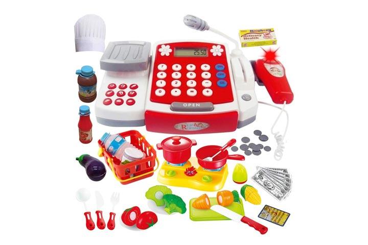 Funerica Toy Cash Register