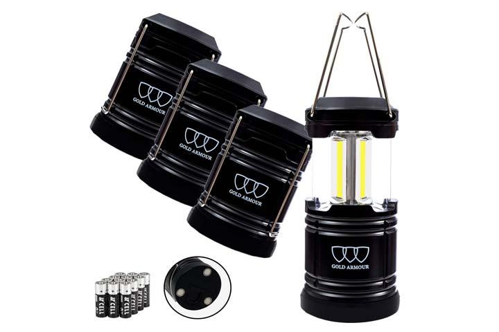 Gold Armour Portable LED Camping Lantern