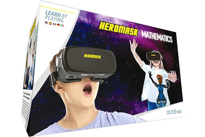 Heromask VR Headset + Mathematics Games