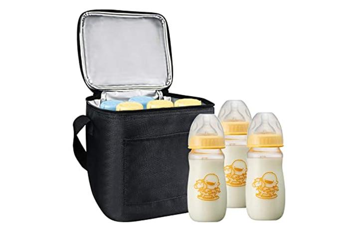 Homga Breast milk Insulated Cooler Storage