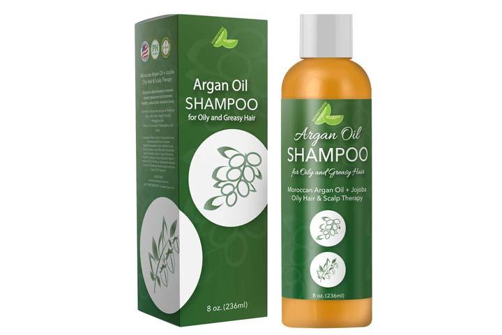 Honeydew Argan Oil Shampoo for Oily Hair And Greasy Hair