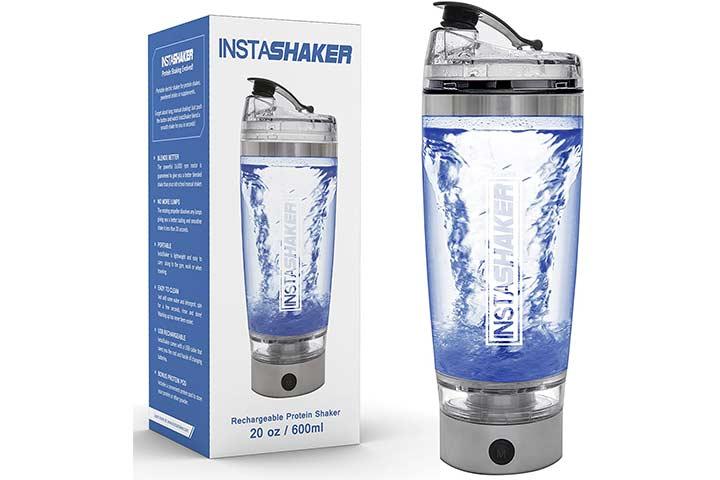 InstaShaker Protein Shaker Bottle