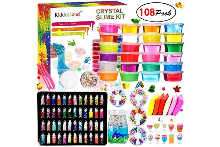 Kiddosland DIY Crystal Slime Kit