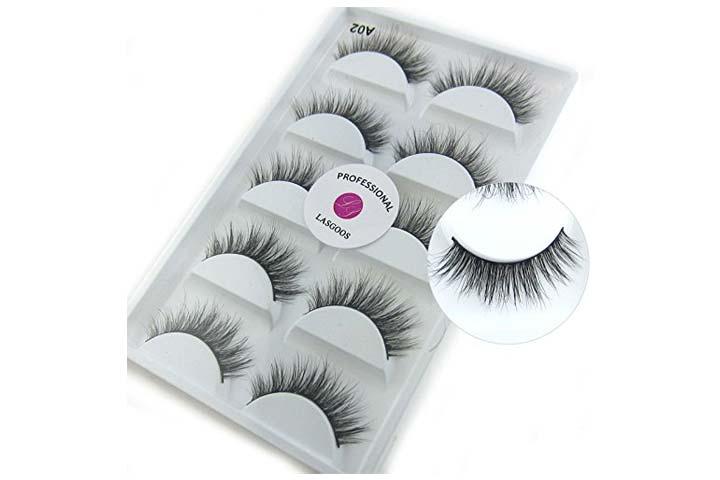 Lasgoos Siberian Mink 3D Eyelashes