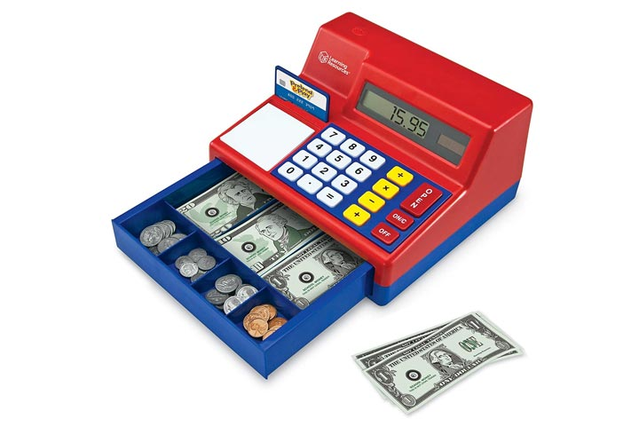 Learning Resources Pretend Play Calculator Cash Register