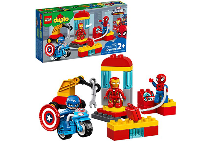 Lego Duplo Super Hero Lab