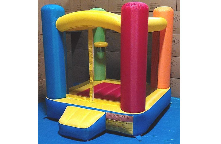Little Castle Bounce House With Step