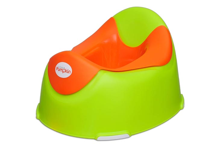 Little Pumpkin Plastic Kingdom Potty Seat for Kids