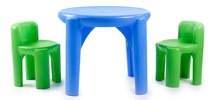 Little Tikes Bright n Bold Table Chairs