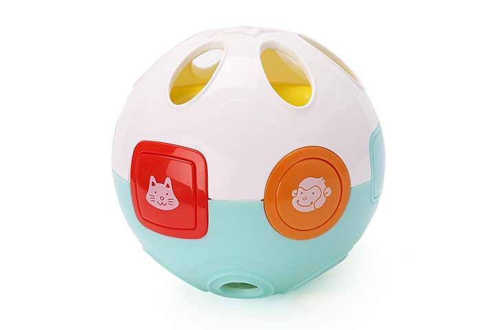 LotFancy Baby Musical Crawling Learning Ball