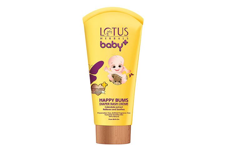 Lotus Herbals Baby + Happy Bums Diaper Rash Cream