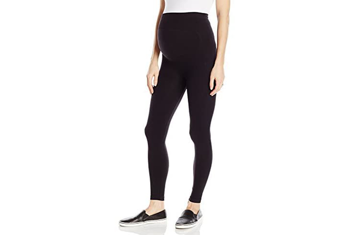 Loving Moments by Leading Lady Maternity Legging With Back Support Belly Band