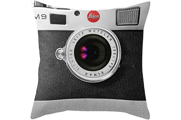Luxsea Camera Printed Square Pillow Cover