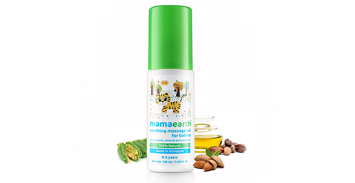 MamaAarth Soothing Massage Oil