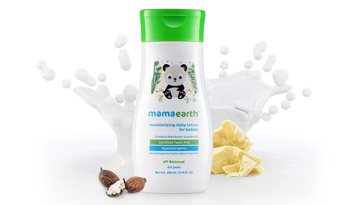 Mamaarth Daily Moisturizing Baby Lotion